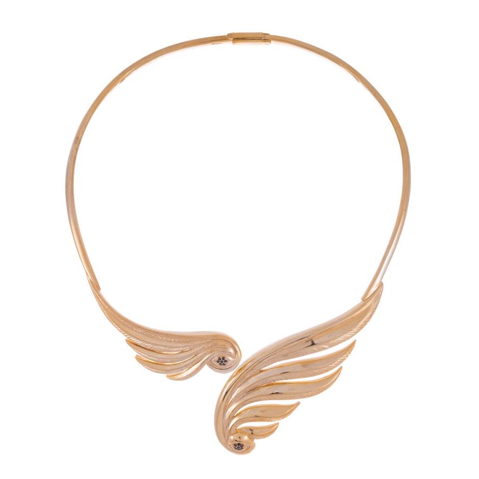 Wing Eye Neckpiece